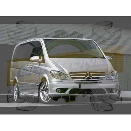 Ampoules Xénon de remplacement pour Mercedes Vito/Viano W639, 2003-2014