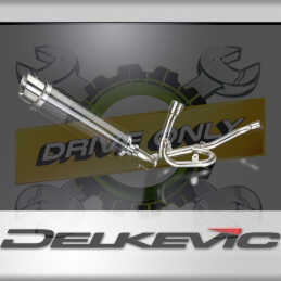 SUZUKI DL1000 V-STROM 2014-2019 ECHAPPEMENT DÉCAT SILENCIEUX 350MM ROND CARBONE