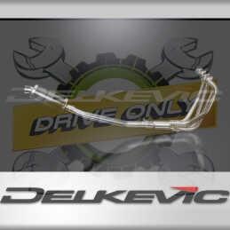 SUZUKI GSF1200 BANDIT 1995-2007 ECHAPPEMENT COMPLET 4-1 POT 225MM OVALE CARBONE