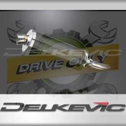 SUZUKI GSX-S750 GSR750 2011-2019 ECHAPPEMENT SILENCIEUX 350MM OVALE CARBONE