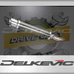 SUZUKI GSX-S750 GSR750 2011-2019 ECHAPPEMENT SILENCIEUX 350MM ROND CARBONE