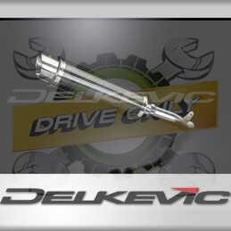 SUZUKI GSXR1000 GSX-R1000 K1 K2 2001-2002 ECHAPPEMENT SILENCIEUX 350MM ROND CARBONE