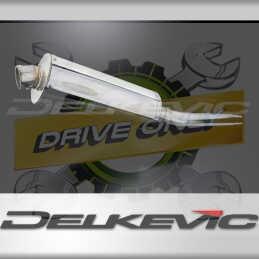 SUZUKI GSXR1000 K5-K6 2005-2006 ECHAPPEMENT SILENCIEUX 350MM OVALE INOX
