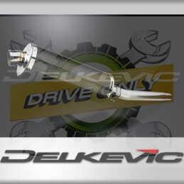SUZUKI GSXR1000 K5-K6 2005-2006 ECHAPPEMENT SILENCIEUX 350MM OVALE CARBONE