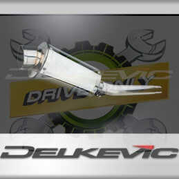 SUZUKI GSXR1000 K5-K6 2005-2006 ECHAPPEMENT SILENCIEUX 225MM OVALE INOX