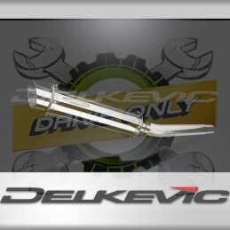 SUZUKI GSXR1000 K5-K6 2005-2006 ECHAPPEMENT SILENCIEUX 350MM ROND INOX