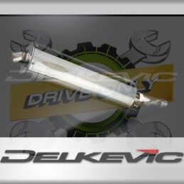 SUZUKI GSXR600 2008-2010 ECHAPPEMENT SILENCIEUX 450MM OVALE INOX