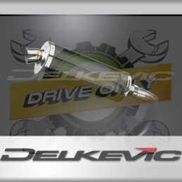 SUZUKI GSXR600 L1-L6 2011-2016 ECHAPPEMENT SILENCIEUX 350MM OVALE CARBONE