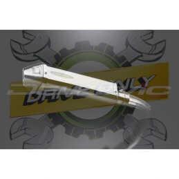 SUZUKI GSXR600 L1-L6 2011-2016 ECHAPPEMENT SILENCIEUX 320MM TRI-OVALE INOX