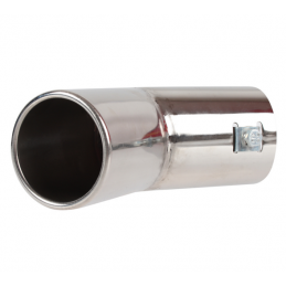 Embout inox rond universel...