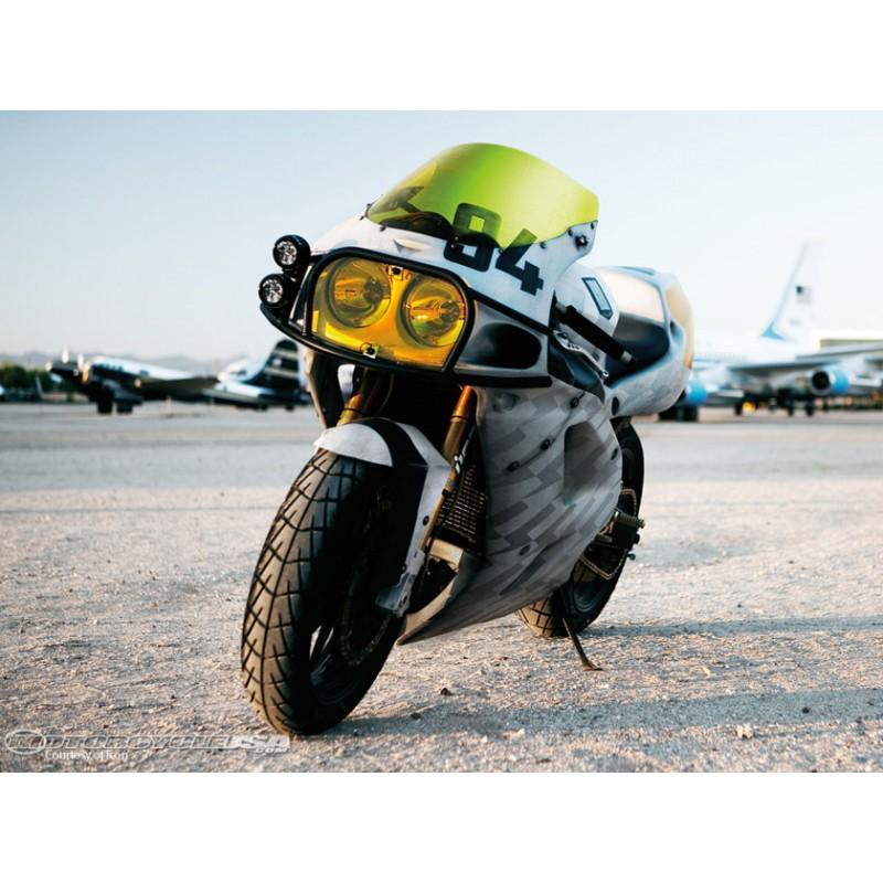 Tankpad pour Ducati Multistrada 950 2017-2018 Noir//Rouge