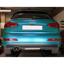 Silencieux direct  Sport  Inox DriveOnly  Q3 2.0Tdi 140cv 2 roues motrices 2011 - 2018