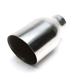 Canule échappement Inox universelle Rond 5 114mm