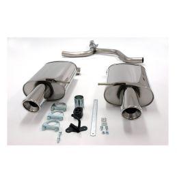 Silencieux Duplex Inox Sport DriveOnly A4 B6 2000-2004 Berline & Break 1.6 / 1.8 / 1.9 Tdi