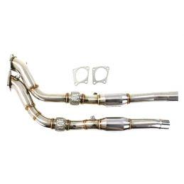 Descente de turbo + Catalyseur Sport S4 B5 V6 Bi Turbo 1997 - 2002