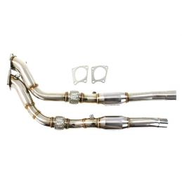 Descente de turbo + Catalyseur Sport S4 B5 V6 Bi Turbo 1997 - 2002