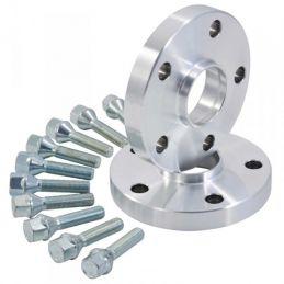Elargisseurs de voies Light Aluminium 20mm Mini 5X112