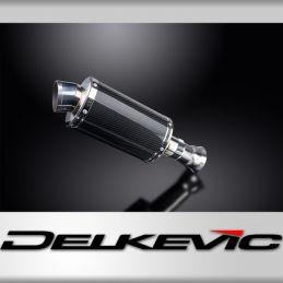 KTM SUPERDUKE 1290 ET R 2014-2018 ECHAPPEMENT SILENCIEUX 225MM OVALE CARBONE