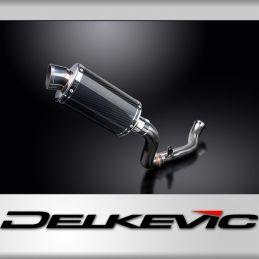 KTM 690 DUKE 2012-2018 ECHAPPEMENT SILENCIEUX + DECAT SILENCIEUX 225MM OVALE CARBONE
