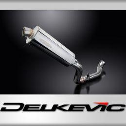 KTM 690 DUKE 2012-2018 ECHAPPEMENT SILENCIEUX + DECAT SILENCIEUX 350MM OVALE INOX