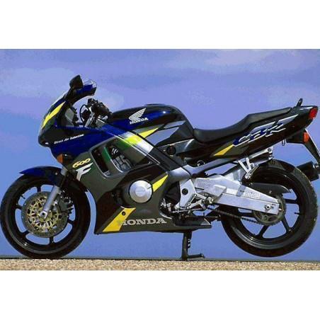 Silencieux sport Dominator : CBR 600 F F1/F2/F3 1987 - 1998