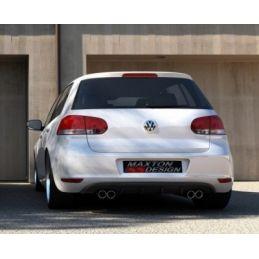 RAJOUT DU PARE-CHOCS ARRIÈRE VW GOLF VI  Silencieux Duplex Look R 2008 - 2013
