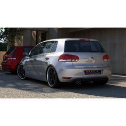 RAJOUT DU PARE-CHOCS ARRIÈRE VW GOLF VI  Silencieux Origine 2008 - 2013