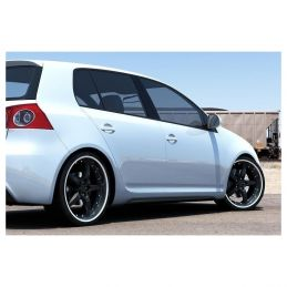 2 BAS DE CAISSE POUR VW GOLF V Look Golf VI GTI  2003 - 2008