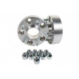 Elargisseurs de voies Light Aluminium 30mm Land 5x108  Double boulonnerie