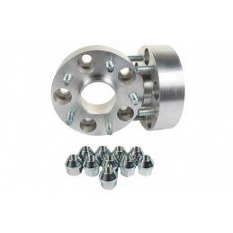 Elargisseurs de voies Light Aluminium 25mm Land 5x120  Double boulonnerie
