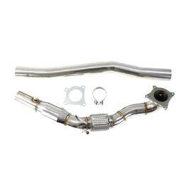Descente de turbo diamètre 76mm  + Catalyseur Sport DriveOnly Skoda Superb 2 1.8Tfsi / 2.0Tfsi 2008 - 2015