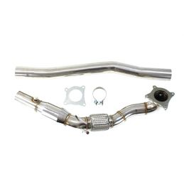 Descente de turbo  diamètre 76mm + Catalyseur Sport DriveOnly Audi A3 8P 1.8Tfsi  / 2.0 Tfsi 2003 - 2012