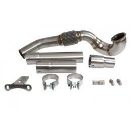 Descente de turbo + Décatalyseur Inox S3 8V  2013 - 201x