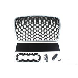 Calandre Silver/Black Look-RS6 A6 C6  2009 - 2011