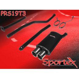 Ligne Performance + Intermédiaire + Decatalyseur Sportex1 Peugeot 206 1.6 16V Look RC 2000 - 2007