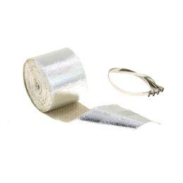 Bande thermique isolation Echappement 5M Silver
