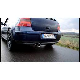 Silencieux Sport DriveOnly Golf 4 1.6 / 1.8 / 2.0 / 1.8T / 2.3V5 / 1.9 TDI 1997 - 2003
