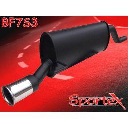 Silencieux Performance Sportex Fiat Grand Punto 2005-2009 1.2 / 1.4 / 1.4 16V / 1.4 Tjet / 1.3Jtd / 1.6 Jtd / 1.9 Jtd
