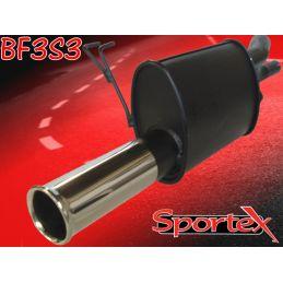Silencieux Performance Sportex Fiat Punto 1.2 Standard & Sporting 1999 - 2004
