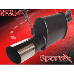 Silencieux Performance Sportex 2 Fiat Punto 1.2 Standard & Sporting 1999 - 2004