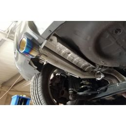 Ligne d'échappement Direct Blue DriveOnly Nissan Juke Nismo 1.6T 2 roues motrices 2010 - 2018