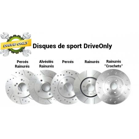 Disques de Freins Avant Sport Percés/Rainurés Ford Mondeo  2 300mm