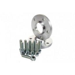 Elargisseurs de voies Aluminium Double boulonnerie 5mm Land Rover 5x114.3  - 64,1mm
