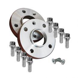 Elargisseurs de voies Light Aluminium 17mm Rover  4X114.3- 64.1mm