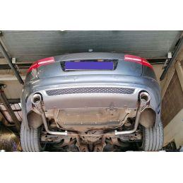 Silencieux Sport inox direct DuplexDriveOnly Audi A6 C6 2.7 TDI / 3.0 TDi 2004 - 2011
