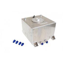 Réservoir aluminium 40L avec connecteurs AN6 + Jauge Carburant