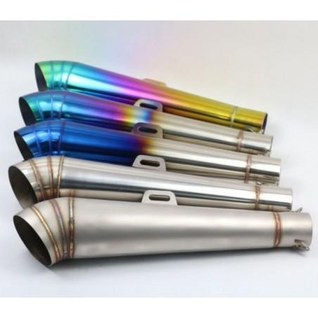 Silencieux inox Gp 1 51 / 42mm + accessoires